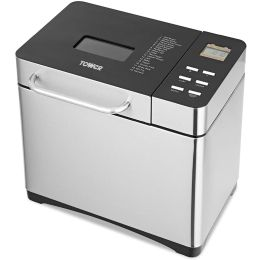 Tower T11005 BRAND NEW Bread Maker with with Digital Control 1Kg 650W Silver