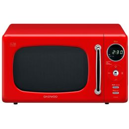 Daewoo KOR9LBKRR BRAND NEW Microwave Oven with Zero Standby ECO Function 20L Red