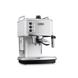 De'Longhi ECZ351W 1100W Scultura Traditional Pump Ground & Pods Coffee Machine