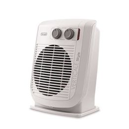 De'Longhi HVF3032 Fan Heater Verticale Style Portable Heater 2200W - White