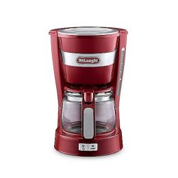 De'Longhi ICM14011.R 600W 0.65L Automatic Switch Off Filter Coffee Machine