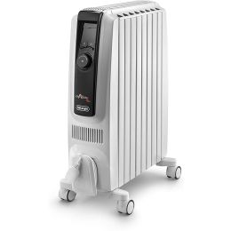 De'Longhi TRDX40820E NEW Oil Filled Radiator Compact with Thermostat 2000W White
