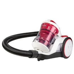 Goblin GCV304W-19 NEW Compact Bagless Cylinder Vacuum Cleaner 700W White & Red