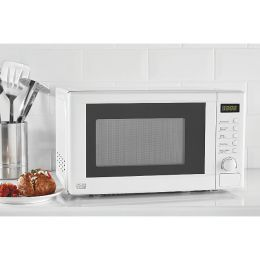 Asda/George Home GDM001W-18 NEW 17L Freestanding Digital 700W Microwave White