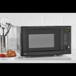 George Home GDM001B-18 Freestanding Microwave Oven Digital Control 17L Black