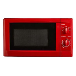George Home GMM101R-18 Manual Control Freestanding Microwave Oven 17L 700W Red