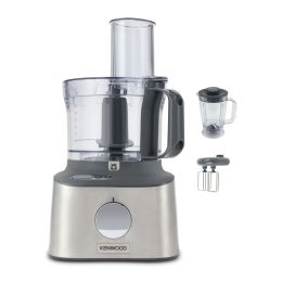 Kenwood FDM310SS NEW Multipro Compact + Food Processor & Blender 2.1L 800W Silver