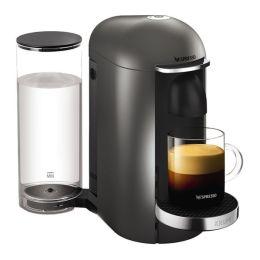 Krups XN900T40 Pod Coffee Machine Maker Nespresso Vertuo Plus 1.7L Titanium