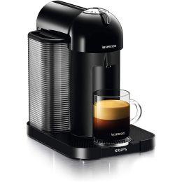 Krups XN901840 Nespresso Vertuo 1.2L Pod Coffee Maker Machine 1260W Black