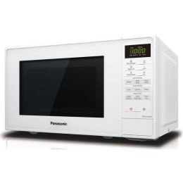 Panasonic NN-E27JWMBPQ NEW Compact 800W 20L Digital Solo Microwave Oven