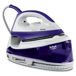 Tefal SV6020 NEW Fasteo Ceramic Powerful Steam Generator Iron Purple