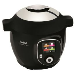 Tefal CY851840 Cook4Me+ Electrical Pressure Cooker 6L Smart Multi Cooker Black