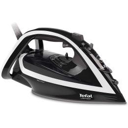 Tefal FV5675G0 NEW Ultimate Turbo Pro Anti-scale Steam Iron 2800W Black & White