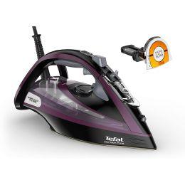 Tefal FV9830G0 NEW Ultimate Pure Powerful Steam Iron 0.35L 3000W Black & Purple