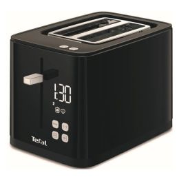 Tefal TT640840 2 Slice Toaster Smart N Light with Defrost Function 850W Black