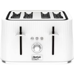 Tefal NEW TT760140 1700W Loft 4 Slice Toaster with  Defrost & Reheat Function